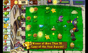 Zombies vs Fruits game - angry fruit